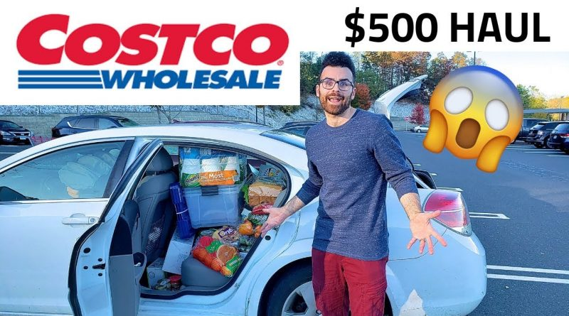 $500 Vegan Costco Haul
